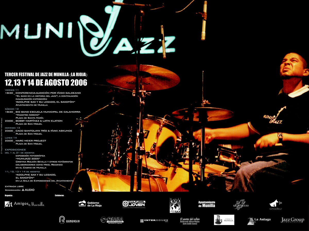 Cartel Munijazz 2006