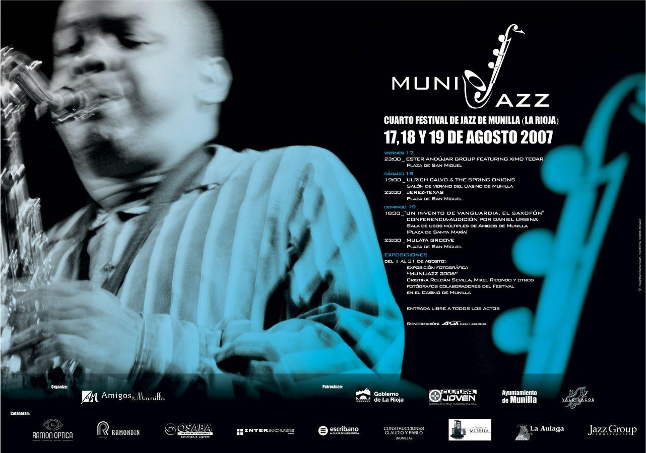 Cartel Munijazz 2007
