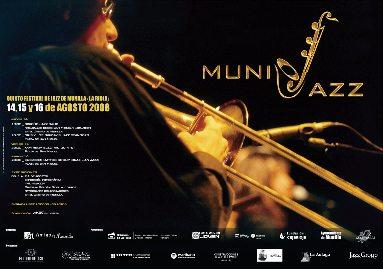 Cartel Munijazz 2008