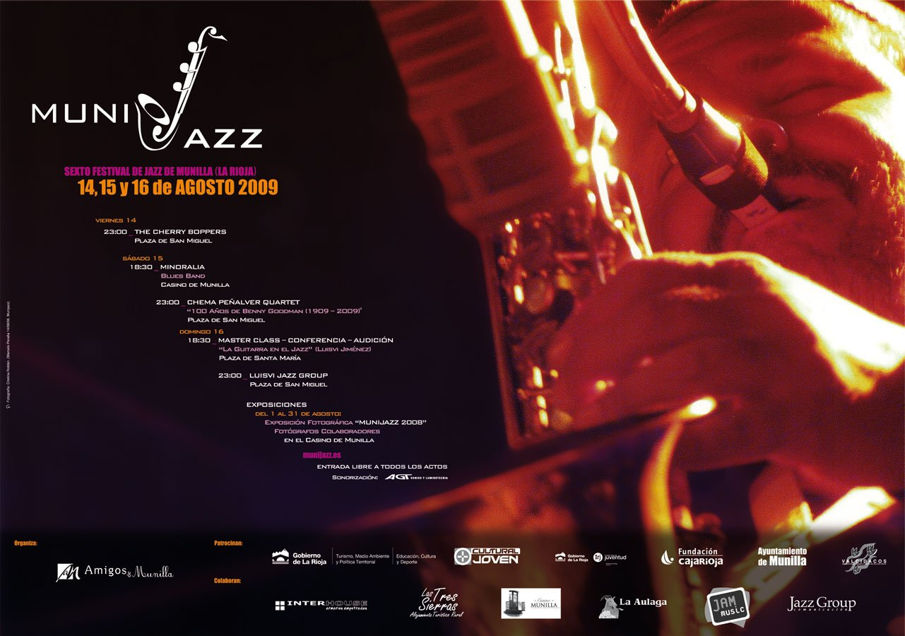 Cartel Munijazz 2009