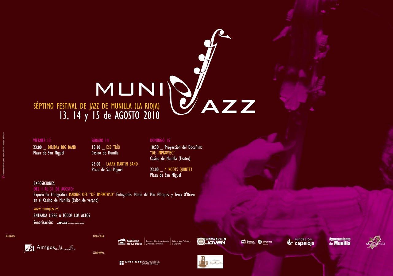 Cartel Munijazz 2010
