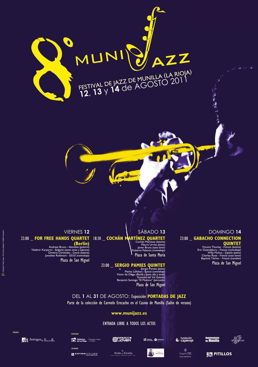 Cartel Munijazz 2011