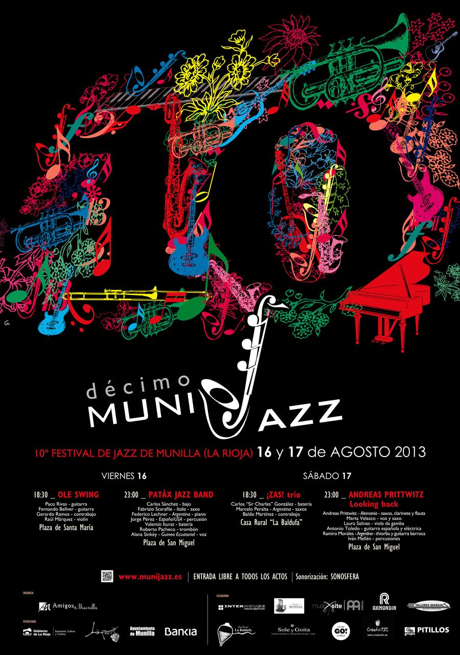 Cartel Munijazz 2013