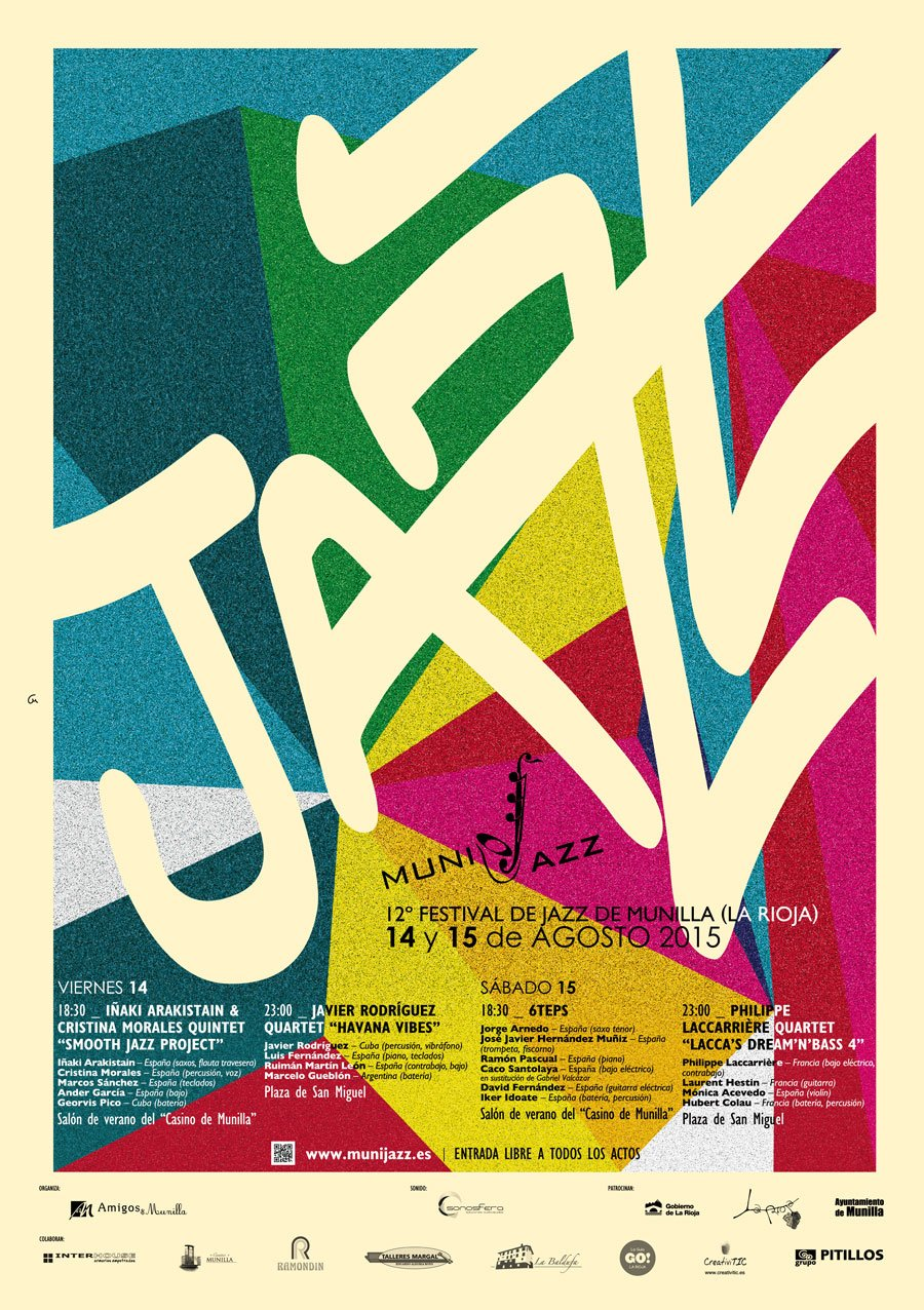 Cartel Munijazz 2015