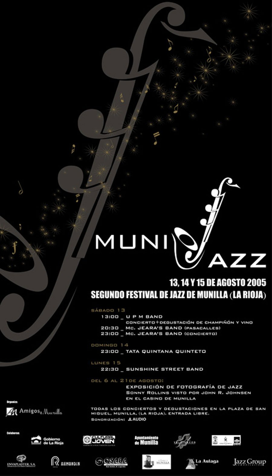 Cartel Munijazz 2005