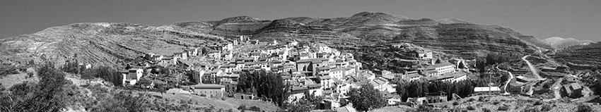 Panorámica del pueblo de Munilla