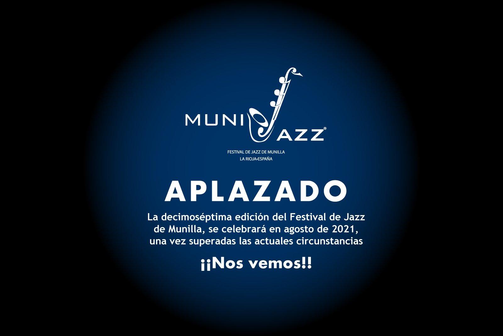 Festival Munijazz aplazado